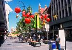 Christmas decorations, downtown Adelaide