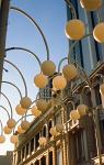 lanterns in downtown Perth
