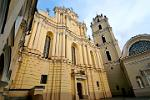 Pictures of Lithuania - Vilnius University and St. Johns Church