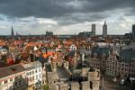 Pictures of Belgium - Ghent - city view from the Gravensteen
