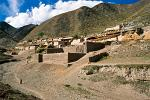 a traditional Tibetan village