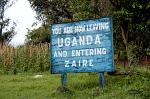 crossing the border from Uganda