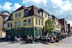 outdoor Pub, restaurant at Slotspladsen