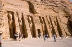 the Small Temple or Temple of Hathor and Nefertari