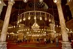 interior of the Great Mosque of Mohammed Ali