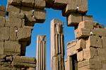 symbols of Upper and Lower Egypt at Karnak Temple