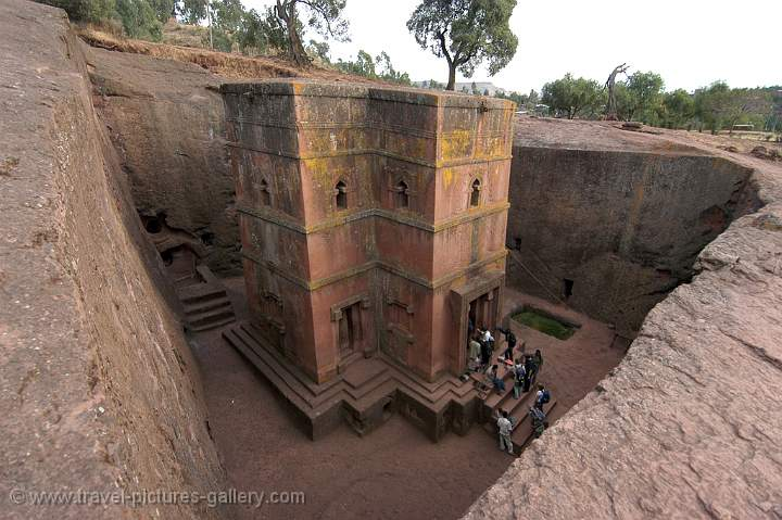Bet Giyorgis, the church of St. George, Lalibela