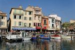 the port at the town of Cassis