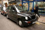 a typical London taxi cab