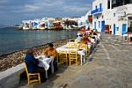 outdoor restaurants on the waterfront, Hora
