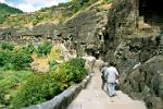 the Buddhist caves of Ajanta date from 250 BC - 650 AD