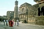 the rock cut temples at Ellora, also a Unesco World Heritage Site