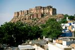 the hilltop Meherangarh Fort, the Maharajah of Jodhpur still lives here