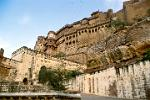 the imposing Meherangarh Fort