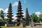 Pura Meru, the most important temple on Lombok, Cakranegara