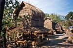 traditional thatched Sasak huts