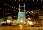 Jameh Mosque by night