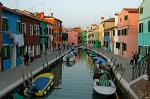 Burano is just 45 min by waterbus from Venice