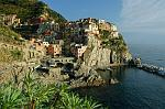the pretty village of Manarola