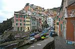 at the village of Riomaggiore