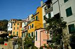 bright ochre at Corniglia