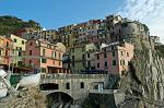 Manarola looks like a fortress