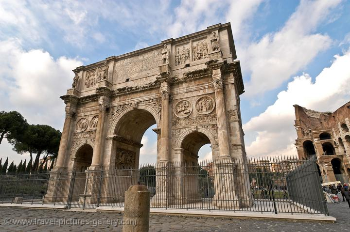 The Arch of Constantine (312 AD)