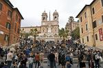 Spanish Steps, Piazza Spagna, Church of Trinità dei Monti