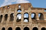 the Colosseum or Roman Coliseum, originally the Flavian Amphitheatre