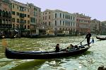 a Gondola on the Canal Grande