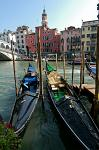 Gondolas on the Canal Grande