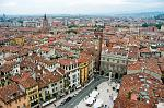 a view over the city from Torre dei Lamberti