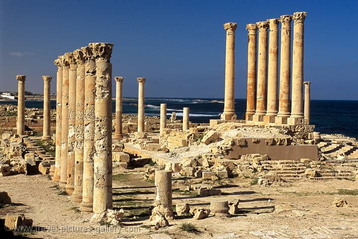 Pictures of Libya - Sabratha, Roman City