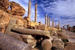 Pictures of Libya - Leptis Magna, Via Trionfale, Tripolis (Three Cities)