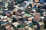 Antananarivo roofs and houses