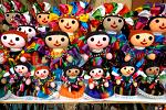 dolls in traditional dress, Guadelajara