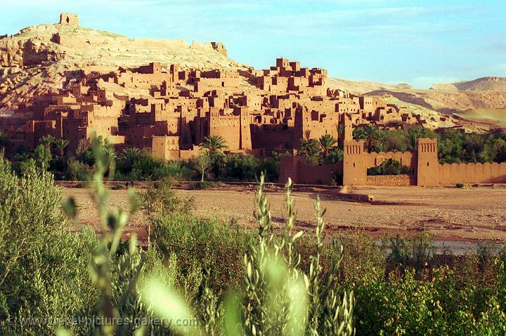 the Kasbah of Aït Benhaddou
