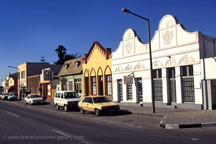 Swakopmund, German colonial buildings