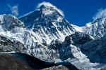 Mount Everest, the world's highest mountain 8850m. (29,035 feet)