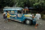a Jeepney, local transport