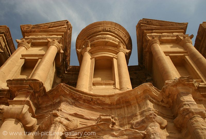 Jordan - Petra - the Monastery, Al Deir, a higlight of Nabatean architecture
