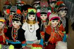 hill tribes of Northern Thailand, traditional dress dolls