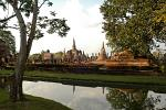 Sukhothai Historical Park in North Central Thailand