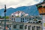 the Potala Palace from the Jokhang
