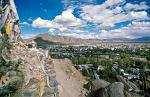 a view over town, Shigatse is the 2nd largest city in Tibet