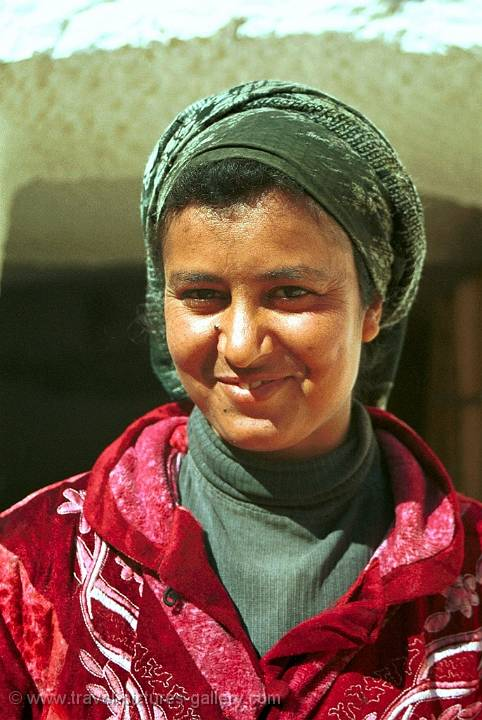 Berber woman in Matmata