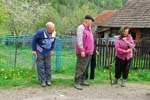 people in the Carpathians