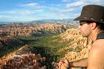 enjoying the spectacular views, Bryce Canyon National Park