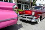 vintage cars on Ocean Drive, Miami Beach