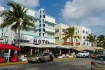 Ocean Drive is known as Deco Drive, Miami Beach